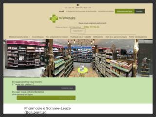 Pharmacie à Baillonville (Somme-Leuze)