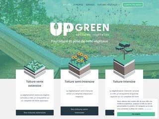 UpGreen - Toitures végétales et toits végétaux