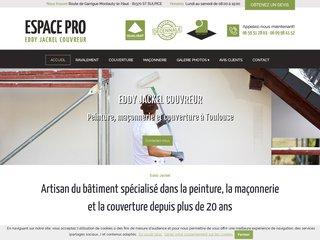ESPACE PRO Eddy Jackel couverture peinture à Toulouse