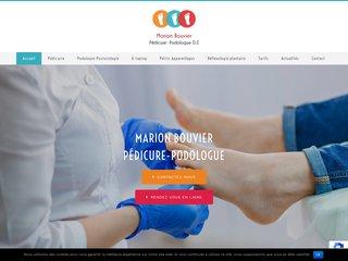 Marion Bouvier, pédicure-podologue