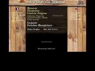 Charpentier-menuisier dans Les Gets Haute-Savoie