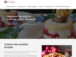 Recette de cuisine simple, menus de fêtes et buffets