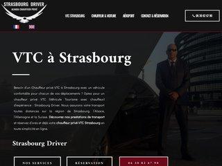 Service de chauffeur privé haut de gamme en VTC à Strasbourg
