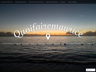 Quoifairemaurice