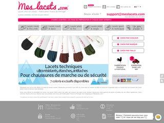 Boutique de lacets Meslacets.com
