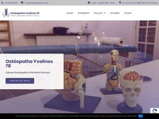 ostéopathe adultes Montfort-l'Amaury