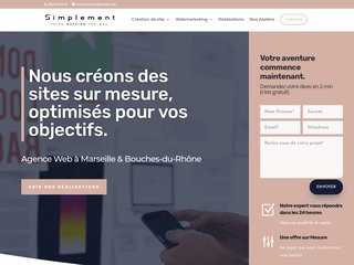 Simplement Agency - Agence Web sur Marseille