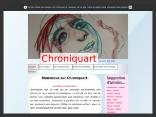 Chroniquart, le site des arts visuels.