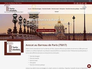 Avocat à Paris 17