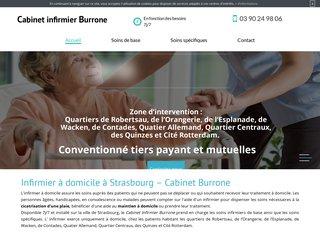 Cabinet Infirmier Burrone: soins de nursing à domicile à Strasbourg (67)
