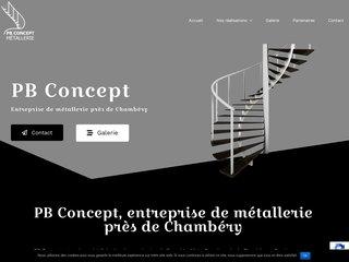 création rambardes aluminium Chambéry