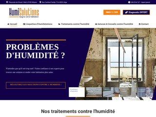 Traitement des problèmes d'humidité en Wallonie - Humisolutions