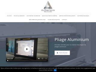 Pliage aluminium sur-mesure Saint-Étienne