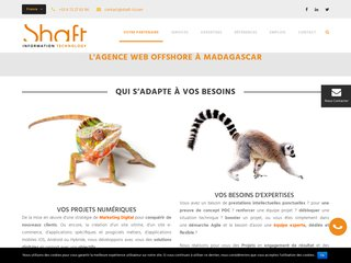 Marketing Digital, Agence Web, e-commerce et Mobile Offshore Madagascar- SHAFT