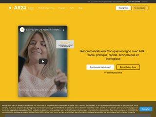 AR24 - Lettre recommandée électronique en ligne (LRE)