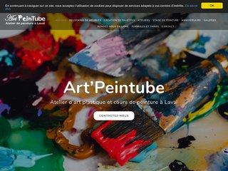 Atelier d'art plastique et cours de peinture à Laval