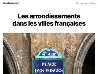 Mieux connaître les arrondissements français