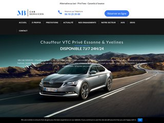 MB Cab Services: VTC Essonne & Yvelines
