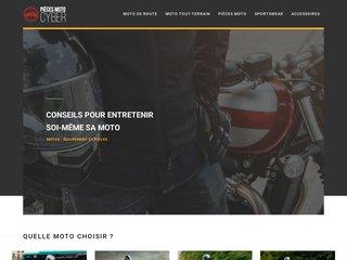 Informations sur les pièces détachées de moto