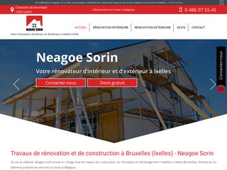Votre entreprise de rénovation à Bruxelles
