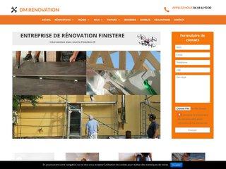DM Rénovation, tous travaux au Finistère