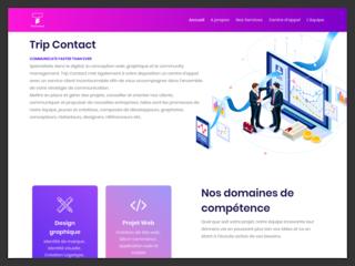 Agence web Trip contact