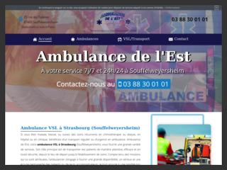 vsl à Strasbourg - Ambulance de l'Est