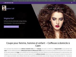 Virginia Coif - Coiffeuse femme à domicile à Caen