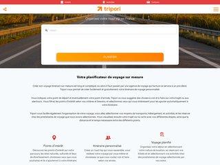 Tripori, le planificateur de voyage par excellence