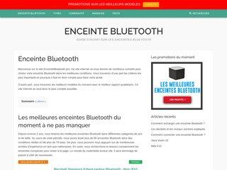 Enceinte-Bluetooth