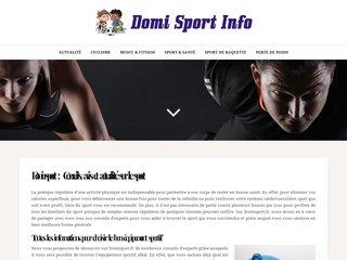 Domisport info