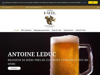 Antoine Leduc brasseur de La Saint-Babel à Sauxillanges