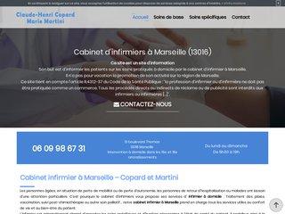 Infirmier à domicile  à Marseille