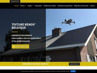 Toiture Renov, 20 ans d'expérience dans le domaine de la couverture en Belgique.  à votre service
