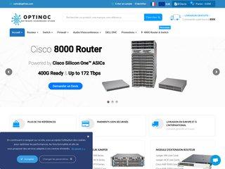 Fournisseur  en ligne de solutions réseaux informatique