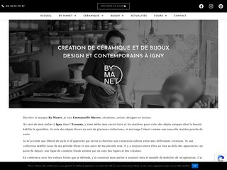 création de céramique et de bijoux design et contemporains à Igny