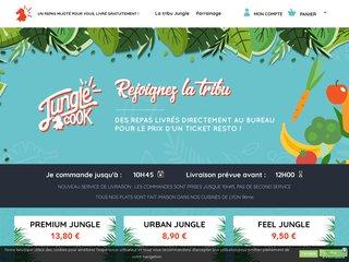 Jungle cook Livraison de plats du monde au bureau sur Lyon