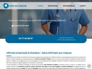 Votre infirmier à domicile à Charleroi