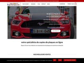 Plaque immatriculation belge