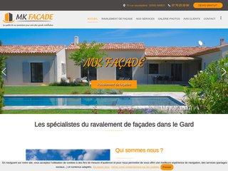 MK Façade, ravalement peinture et isolation extérieure Gard