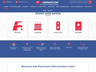 Thermocom votre expert en plomberie et chauffage à Lyon