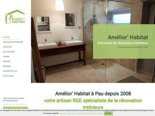 Amelior Habitat, rénovation intérieure Pyrénées Atlantiques et Landes