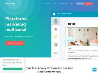 SendPulse, plateforme marketing multicanal