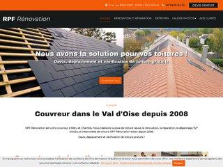 RPF rénovation, couvreur dans le Val d'Oise