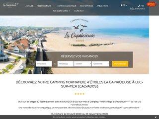Camping La Capricieuse 4 étoiles - Calvados - Normandie