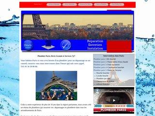 Plombier à Paris 5