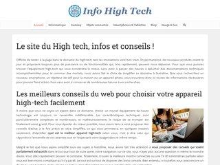 Informations et conseils sur les équipements high-tech