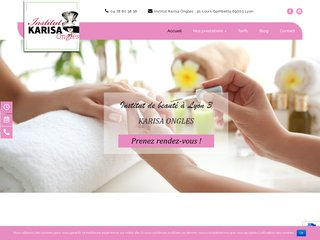 Institut de beauté Lyon Karisa Ongles