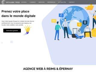 Dynamic Web - Agence de communication à Reims & Épernay