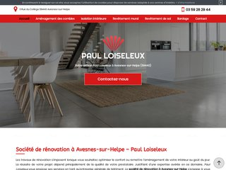 Votre société de rénovation à Avesnes-sur-Helpe